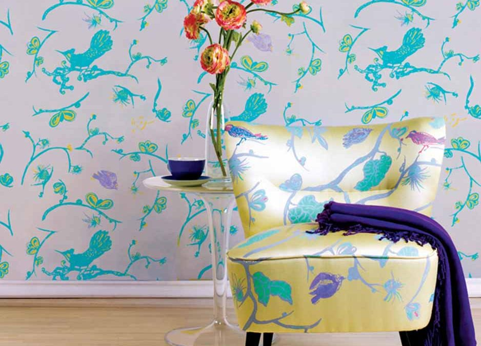 Wallpapers & Textiles for interior decoration